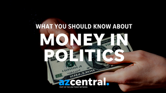 """The cost of running a political campaign has skyrocketed. Where do campaigns get the money to operate? Let's examine contributions and """"dark money."""""""