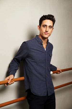 Justin Peck is resident choreographer at New York City Ballet