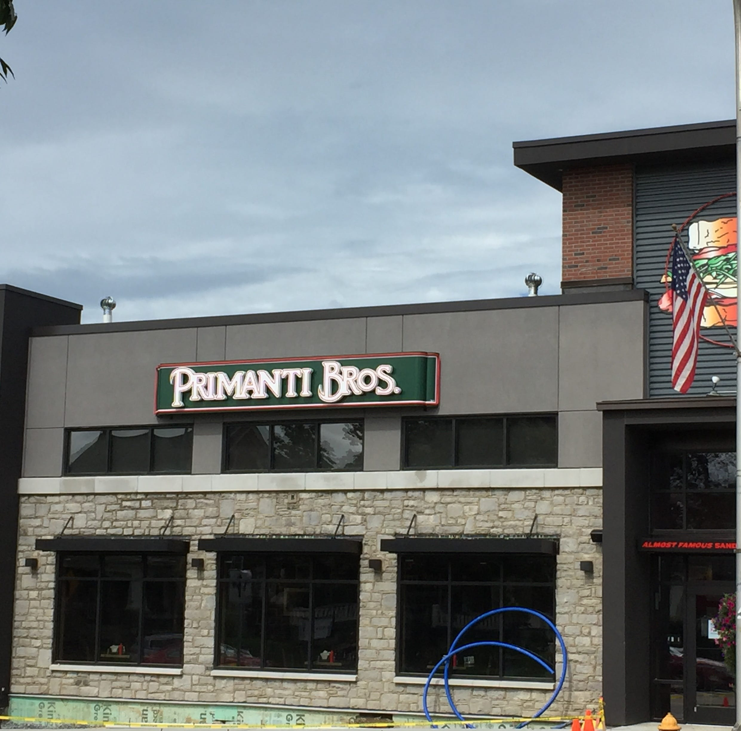 Primanti Bros. is one of the most visible retailers when driving by on Route 422.