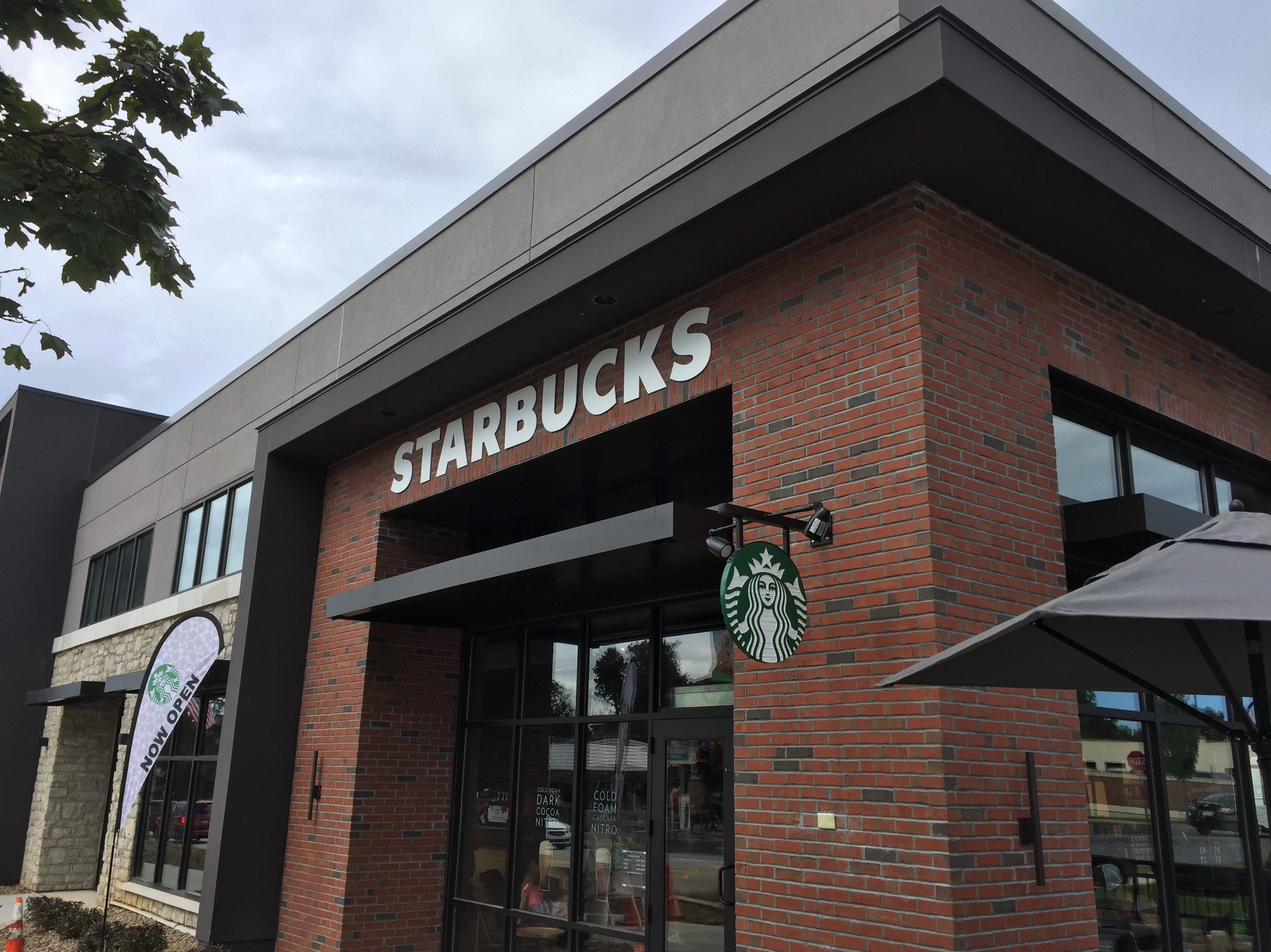 The new Starbucks became the first retailer to open at Hershey Towne Square on Sept. 14.
