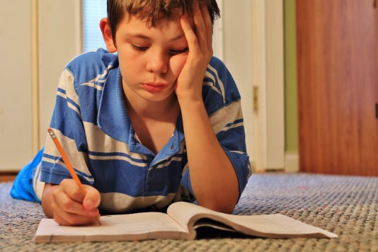 Struggling With Homework