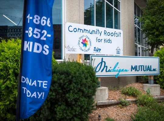 Visitors can make donations to the 24th annual St. Clair County Child Abuse/Neglect Council Community Roof-Sit for Kids by visiting the location at Michigan Mutual or by calling (866) 852-KIDS.