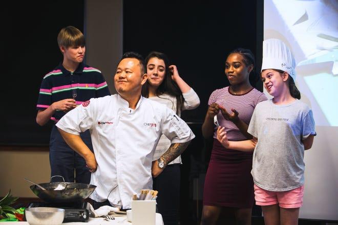 Celebrity chef Jet Tila will be at Marysville High School on Monday.