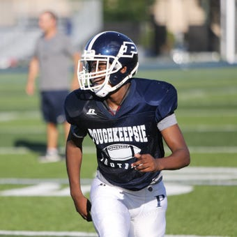 Poughkeepsie football standout Jamik Carter discusses his difficult early childhood in Brooklyn, and  the success he's found in Poughkeepsie.
