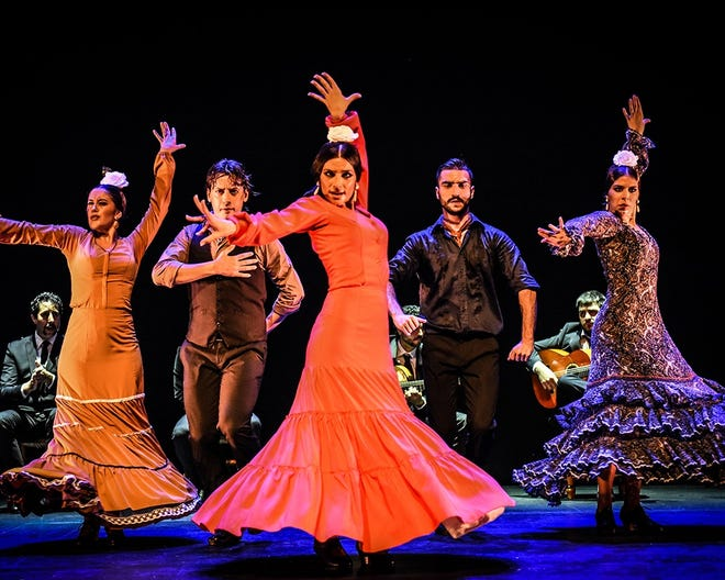 Compania Flamenca Eduardo Guerrero performs Oct. 5 at the Bardavon 1869 Opera House in Poughkeepsie.