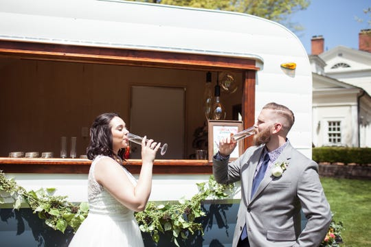 Hudson Trailer Company provides tricked-out trailers for weddings, other events.