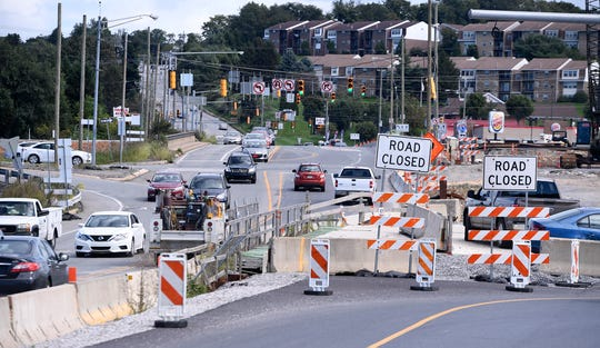 York County lawmakers Reps. Kristin Phillips-Hill and Stan Taylor have requested a public meeting with Maryland-based contractor Cherry Hill Construction and PennDOT concerning delays and over-budget costs with the Mount Rose Avenue project. Tuesday, Sept. 18, 2018. John A. Pavoncello photo