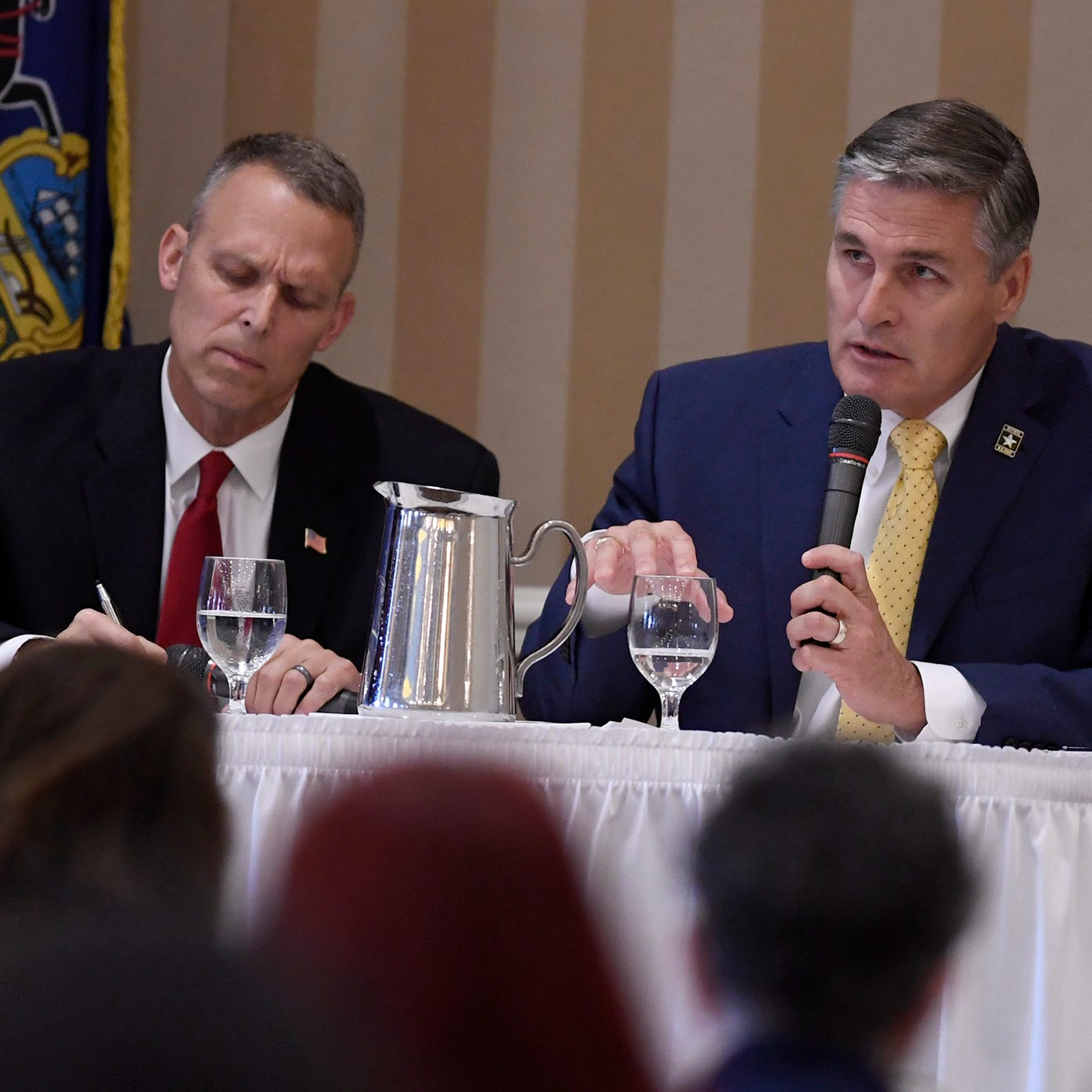 Rep. Scott Perry, George Scott bring civility to second 10th District debate