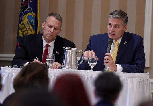 Perry Scott Debate For York Rotary