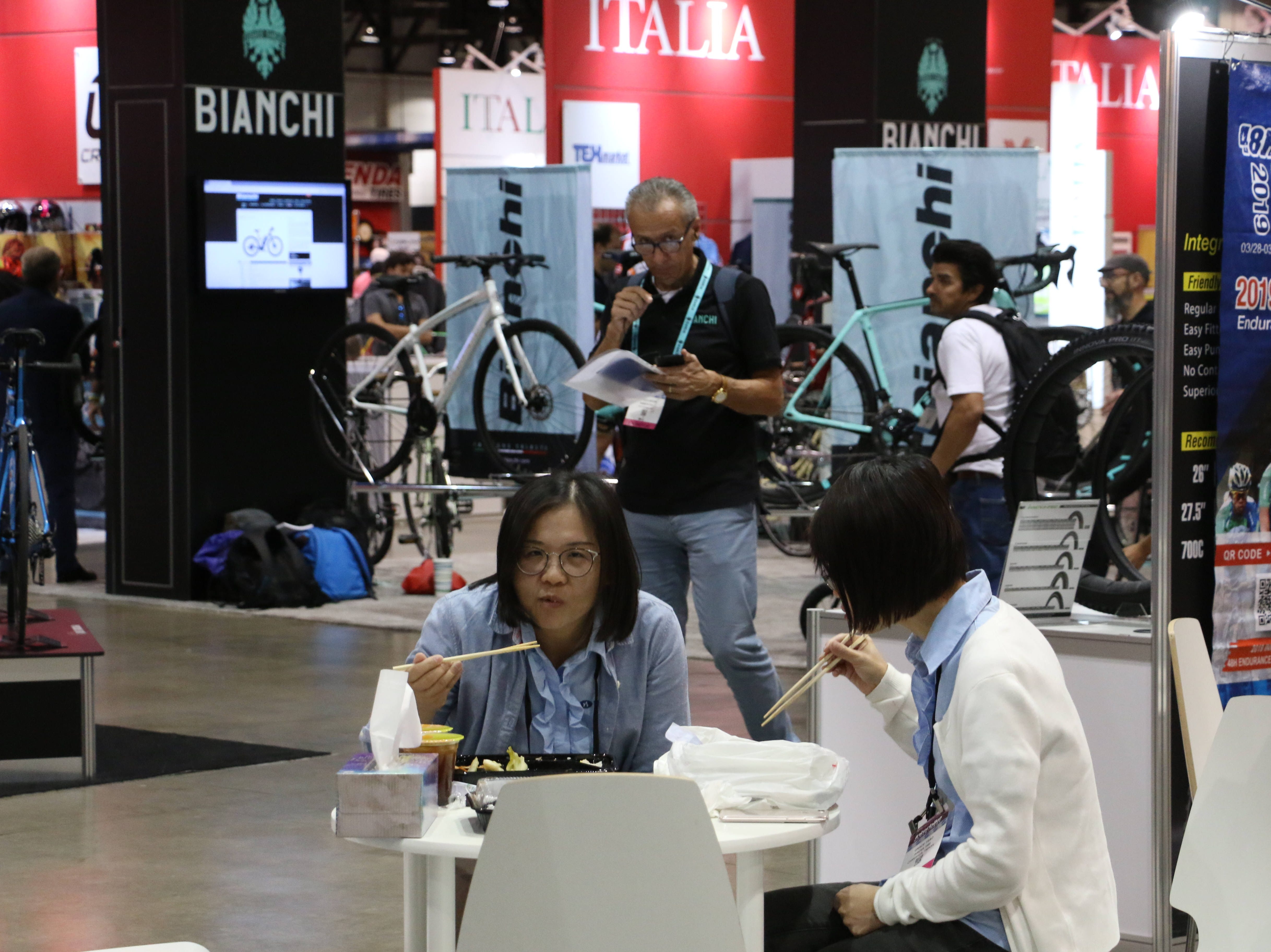 The Interbike Expo at the Reno-Sparks Convention Center in Reno on Sept. 19, 2018.