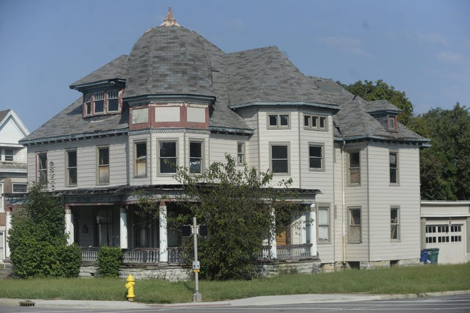 The former Crain Sanitarium at 2116 E. Main St. in Richmond was built in the late 1800s and has served as a home, sanitarium, hospital, inn, tourist center and apartment building.