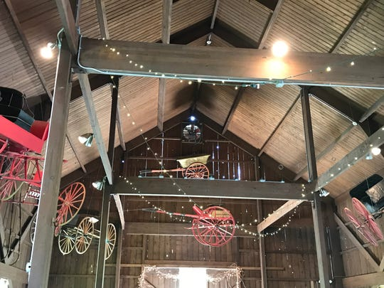 Wedding Barn at Genesee Country Village and Museum in Mumford.