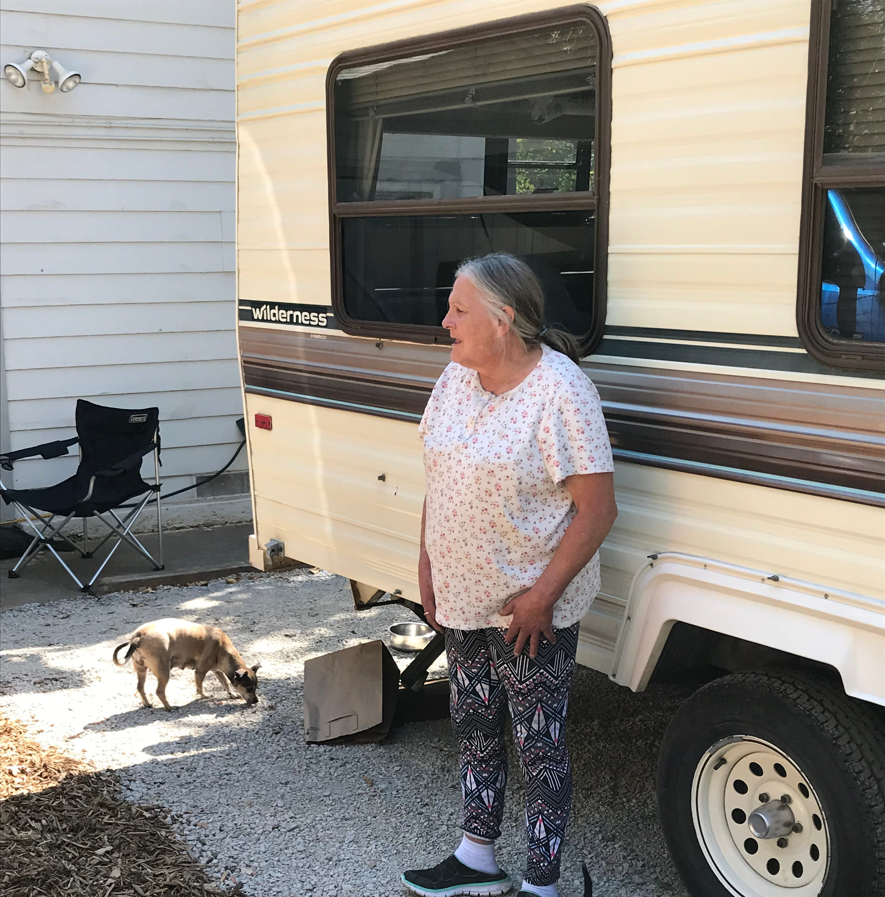 'It was really getting rough out there': Carr Fire victim living in tent finally found a new home