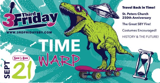 Time Warp is the theme for the next 3rd Friday.
