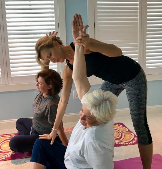 Shannon Sugrue Leads Yoga