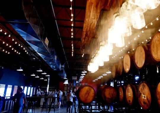 A look at the renovations at Great Raft Brewing.