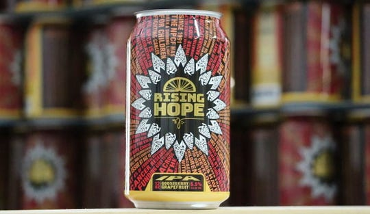 Rising Hope is the official brand of beer for the Brewing Funds the Cure campaign, driven by the National Pediatric Cancer Foundation.