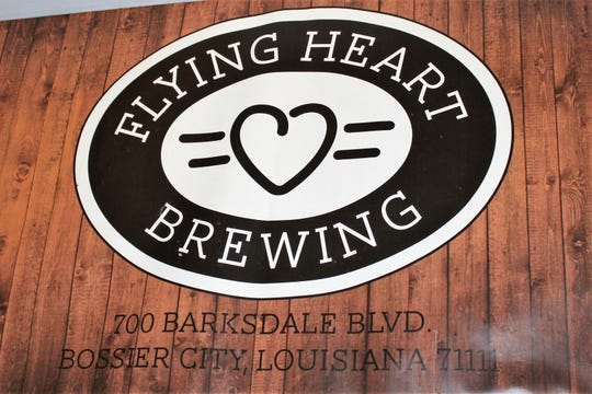 Flying Heart Brewing is located at 700 Barksdale Blvd. in downtown Bossier City.