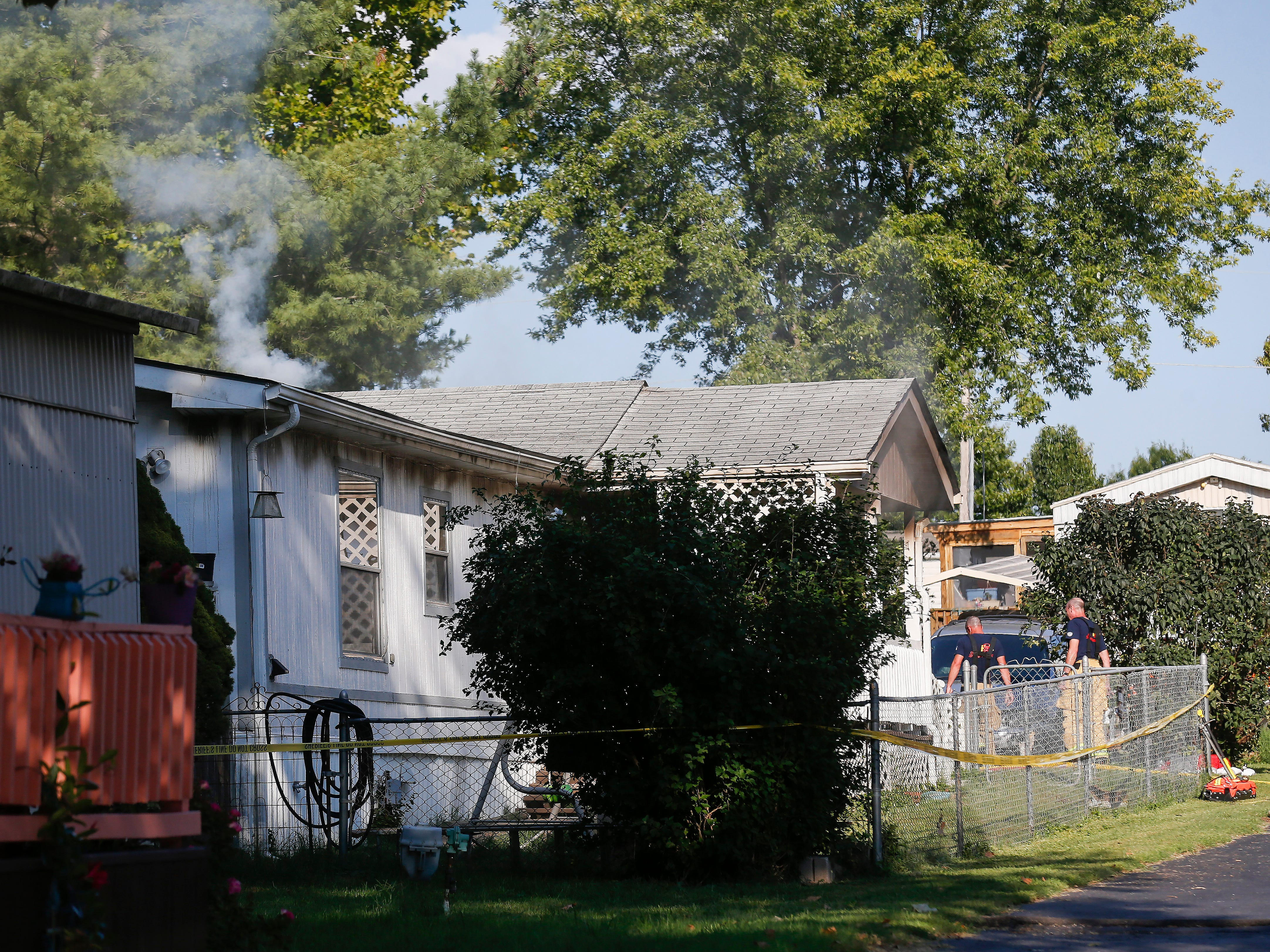 Fire departments from Republic, Battlefield, Springfield and Willard are on the scene of a fire in the Briarwood Mobile Home Park off of W Farm Road 156 near Republic.