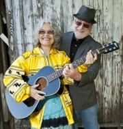 Folk duo Bill and Eli Perras perform Thursday at Blue Tavern.