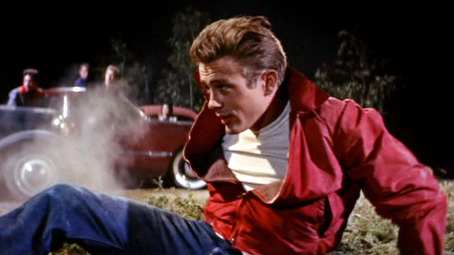 """Movie icon James Dean breaks out the red jacket and forms his own family with Sal Mineo and Natalie Wood when the classic """"Rebel Without A Cause"""" (1955) returns to the big screen at 2 p.m. and 7 p.m. on Sunday and Wednesday at Movies at Governor's Square. See drag racing, knife fights and the angst-ridden story that really brought the teenage cinema into focus. It's not rated. Visit www.fandango.com."""