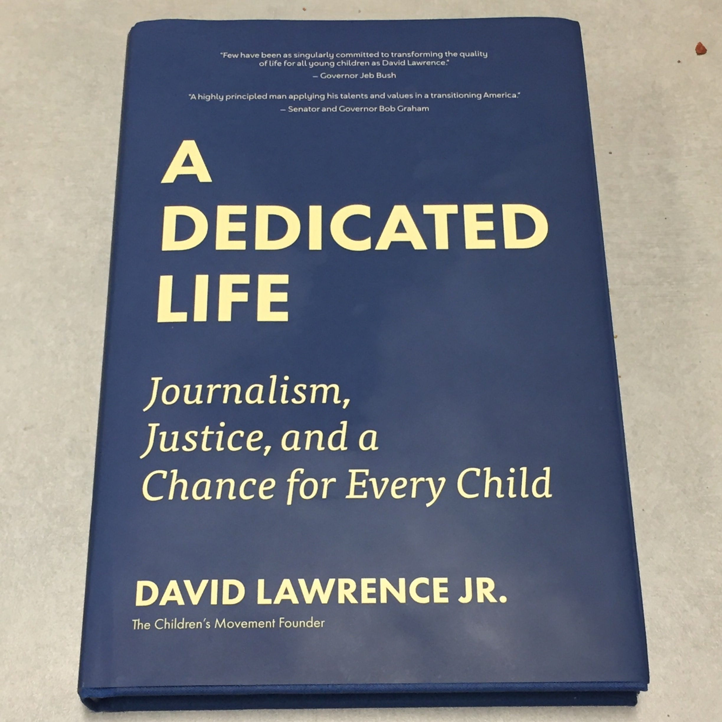 Ex-Miami Herald publisher David Lawrence details dedication in new memoir| Bill Cotterell