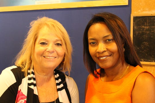 Joan Friedman and Shelly Thomas at Sailfish Brewing Co. for the United Way of St. Lucie County's Women United Recruitment Event on Sept.13.