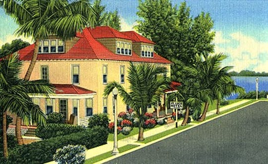 St. Lucie Hotel along St. Lucie Avenue.