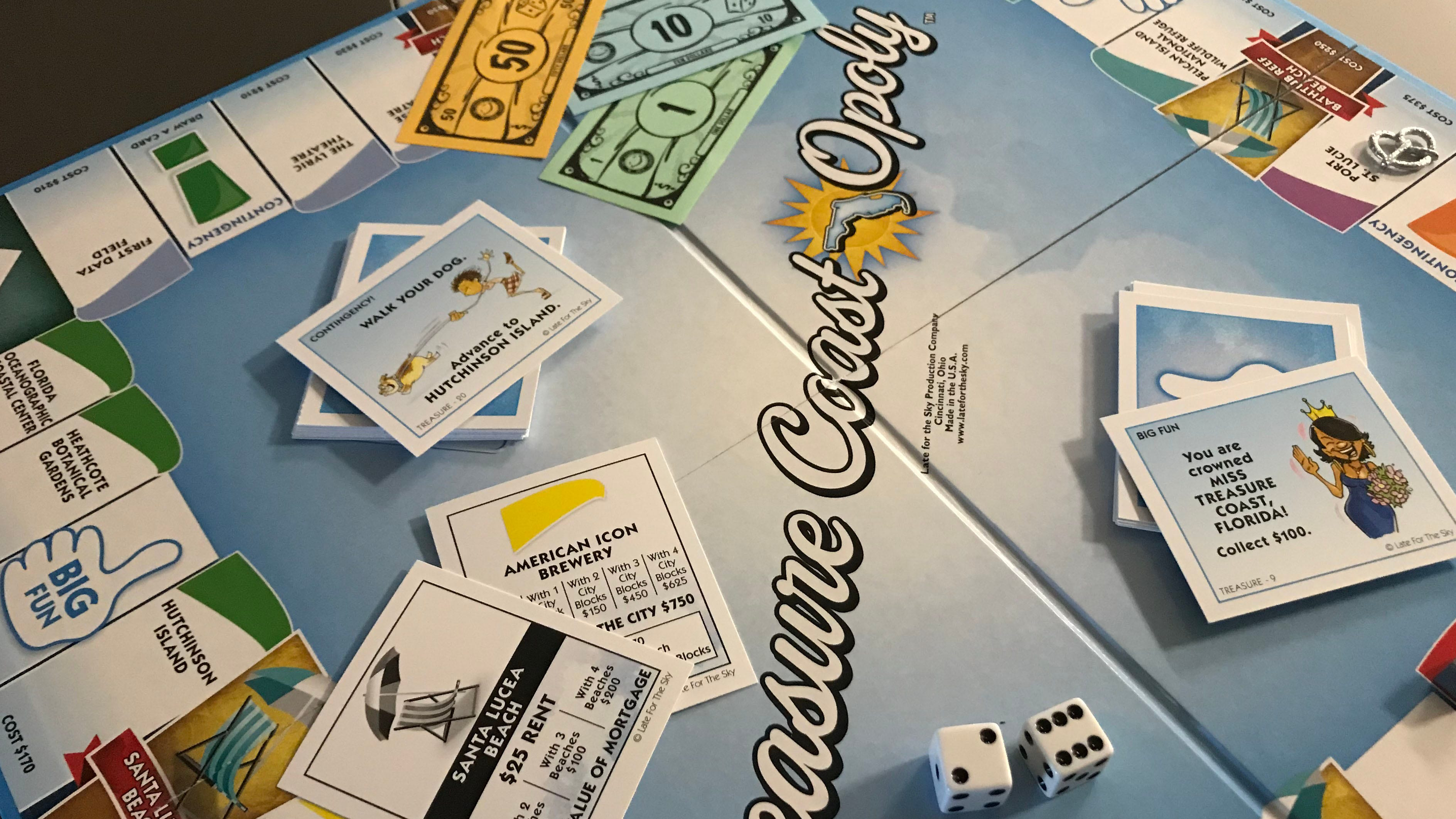 Treasure Coast-Opoly, now available at local...