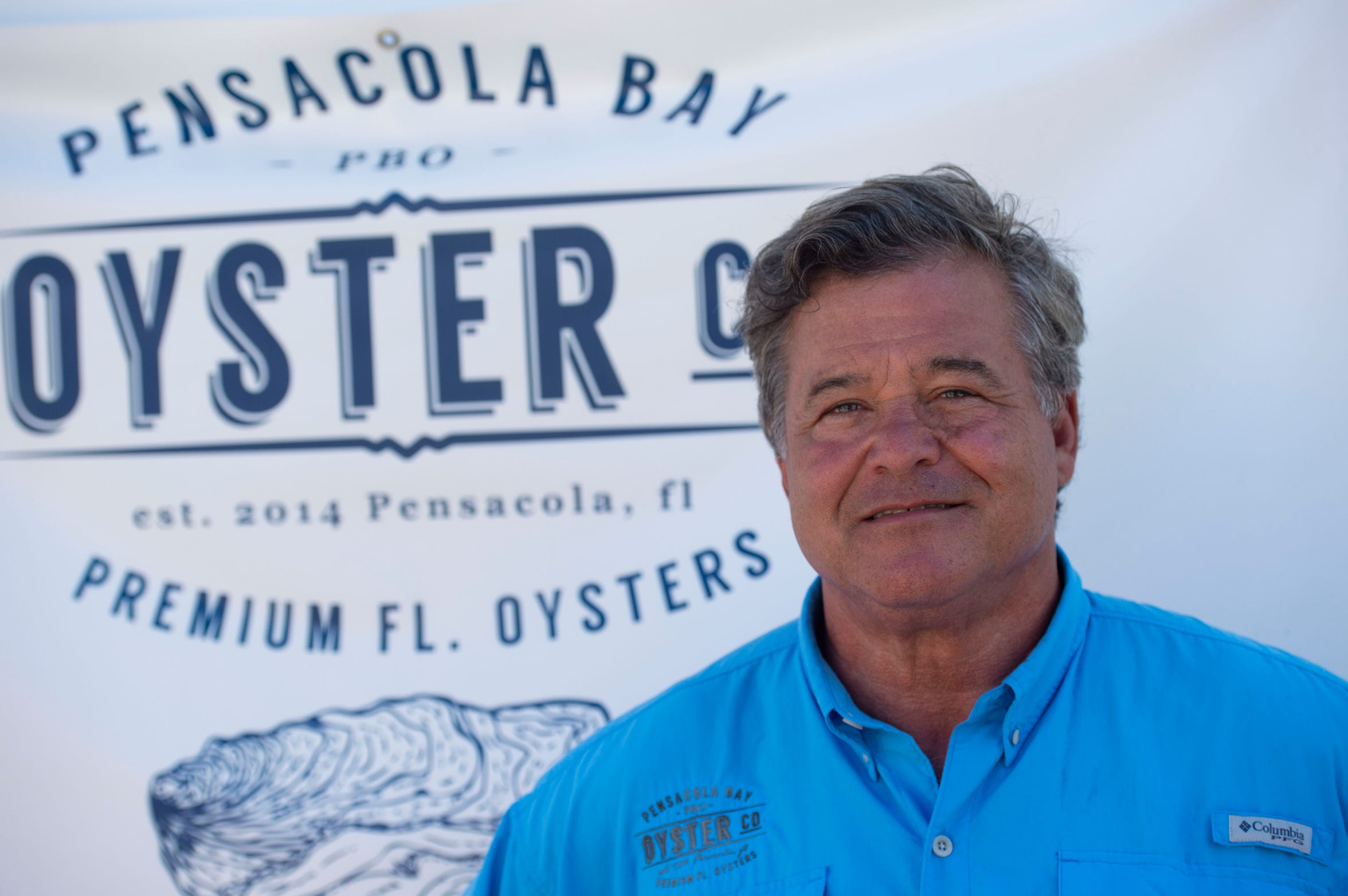 "Donnie McMahon, 64, of Pensacola, founded Pensacola Bay Oyster Co. in 2013 after noticing a need for more water-filtering bivalve mollusks when hurricanes and the 2010 Deepwater Horizon oil spill in the Gulf of Mexico damaged natural oyster beds. Following the environmental tragedies, McMahon recognized possibilities for revitalization in the Florida Panhandle. ""There's been a lot of opportunity for us. Up here in Northwest Florida, we experienced the the BP (Deepwater) Horizon catastrophe in combination with the worst economic downturn in our history. We've emerged from that being one of the lowest areas of unemployment in the state, and a lot of good business growth,"" McMahon said."