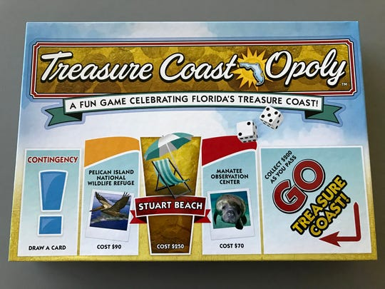 Purchase Treasure Coast-Opoly for $19.98 at any local Walmart Supercenter.