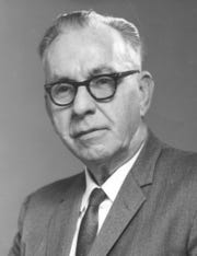 Edwin Menninger in the 1950s.