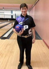 Fort Pierce Central junior Jonathan Cullen rolled his first 300 game Tuesday, Sept. 18, 2018, against Vero Beach at Saint Lucie Lanes.