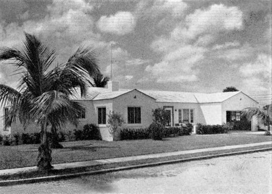 The Cabre home in the 1950s in the Casa Terrace neighborhood.