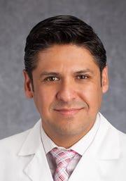 Dr. Ruben Ramirez-Vega, directs The Hospitals of Providence's Hepatitis C clinic.