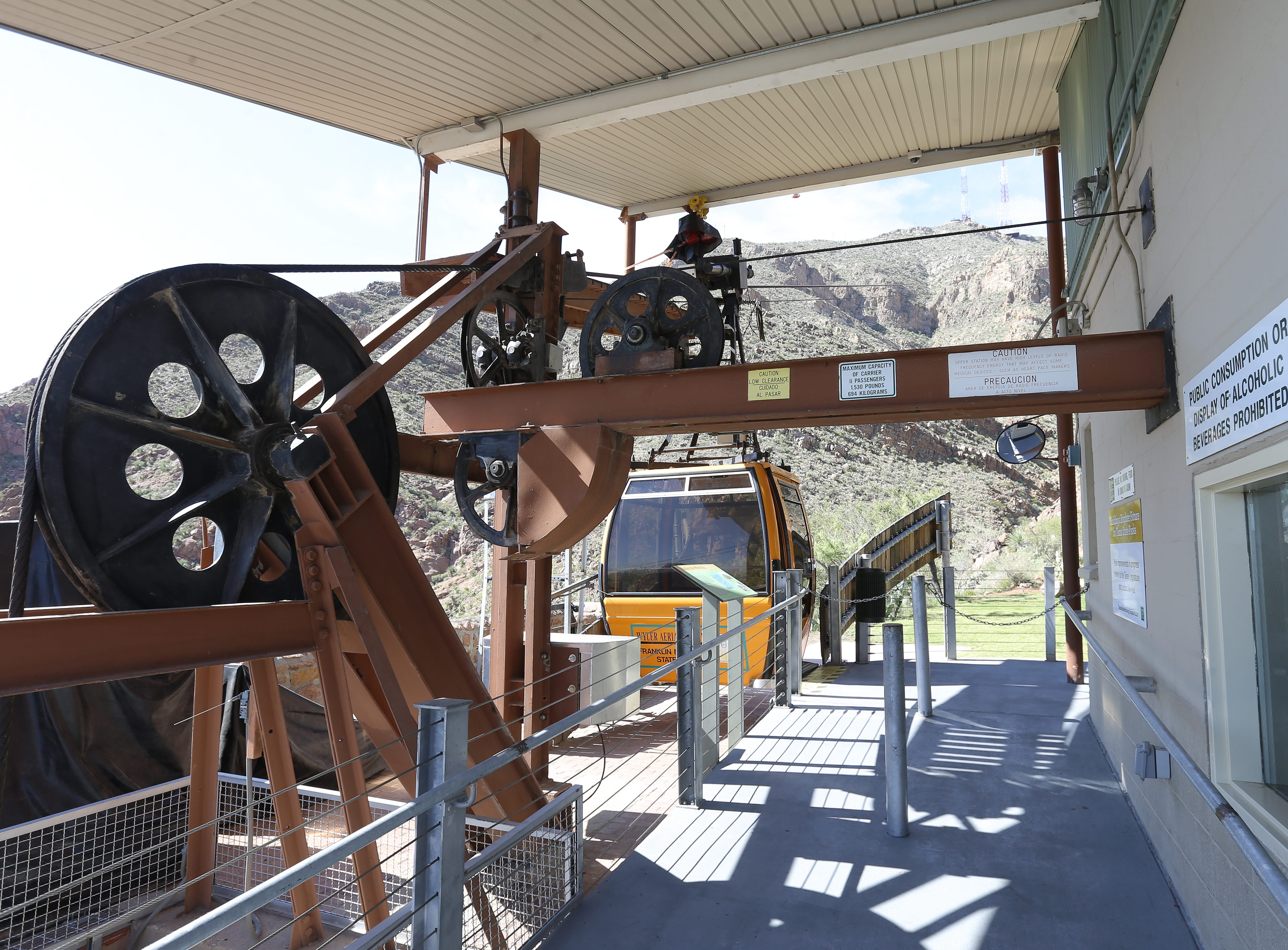 The Wyler Aerial Tramway State Park remains closed Wednesday after maintenance issues forced the closure of the popular El Paso attraction.