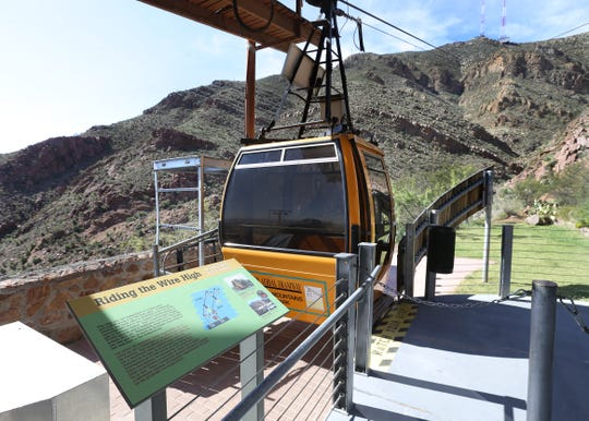 The Wyler Aerial Tramway is closed.