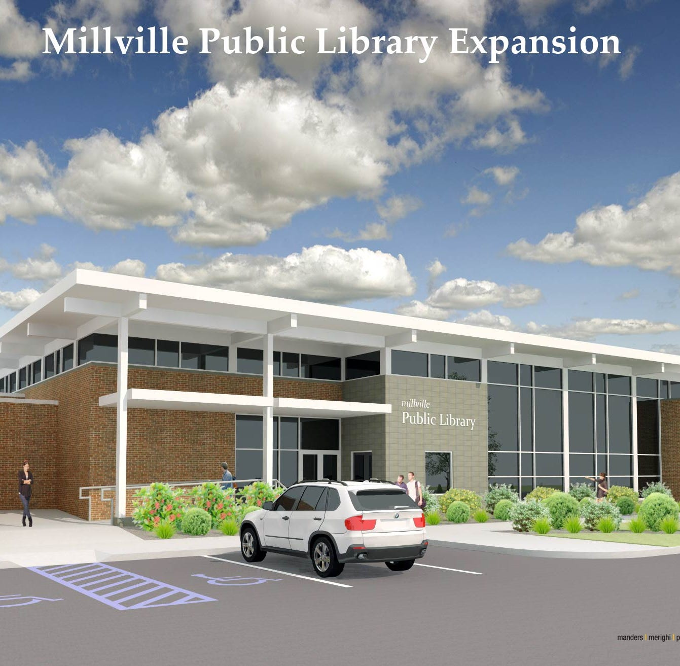 Millville library to double size, add teen center under expansion plan