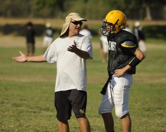 Paul Preheim got his first football head coaching opportunity at Golden West High School.