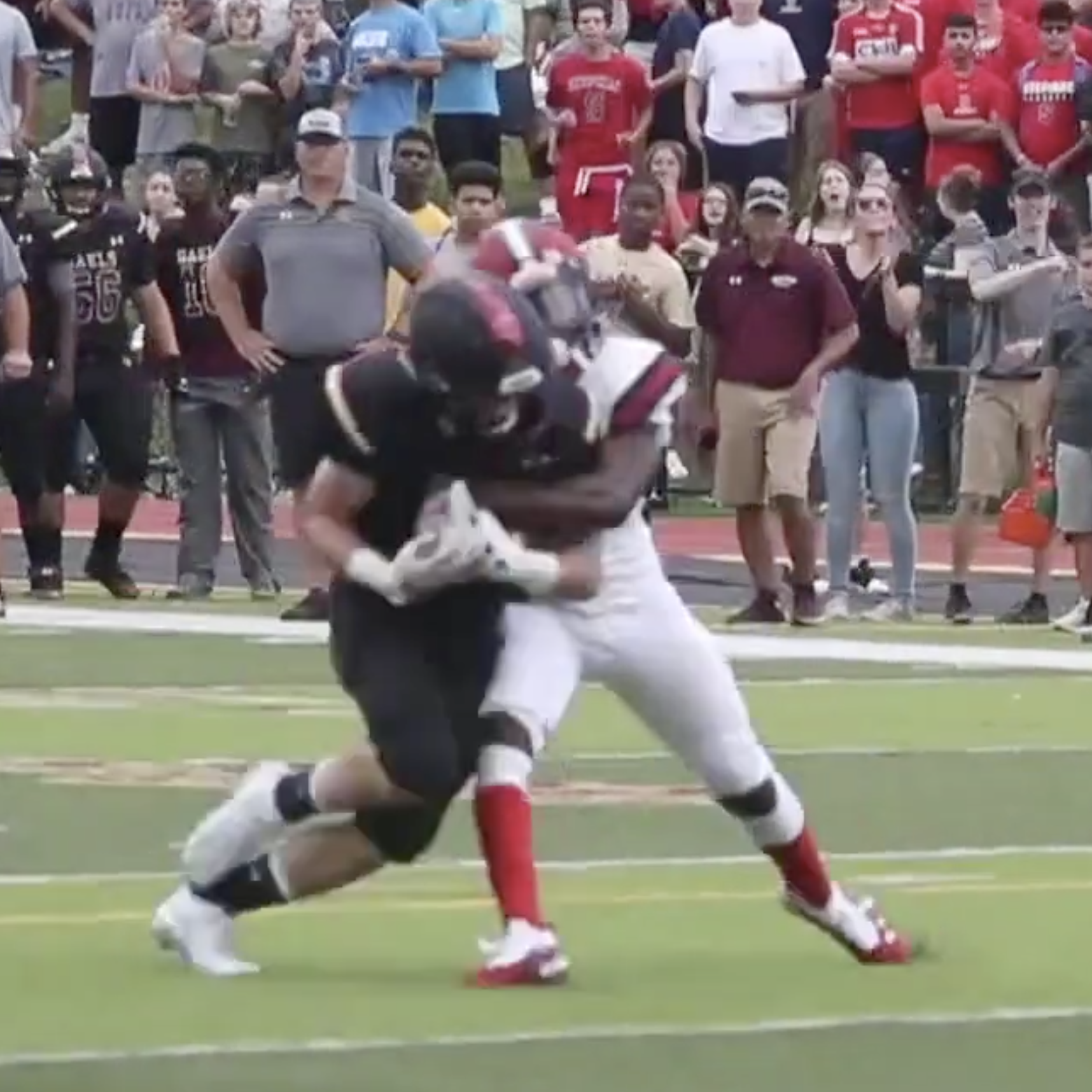 Cory Richards' forced fumble hit is the #lohudfootball Week 3 Play of the Week