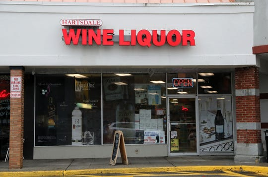 Hartsdale Wine Liquor at the Dalewood Shopping Center II, where the Total Wine franchise is expected to move in. A  group of local stores are worried the large retailer will hurt their small businesses and are lobbying the state to deny it a license.