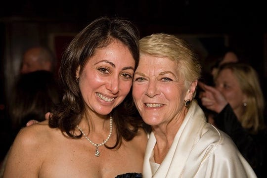 Donna Zaccaro and her mother, Geraldine Ferraro