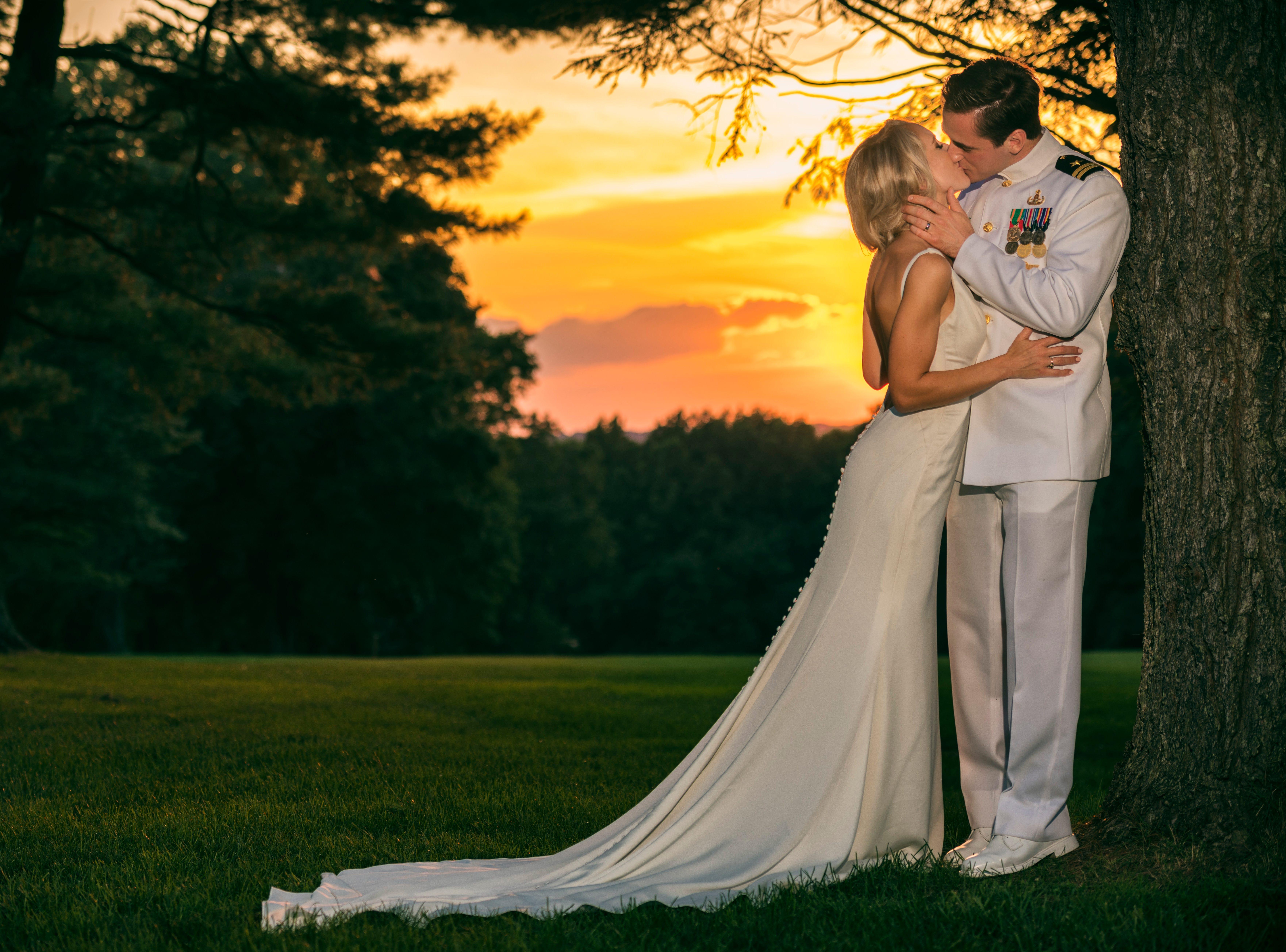 Caroline Meadows Campbell andLt. David Galluch/ July 28, 2018