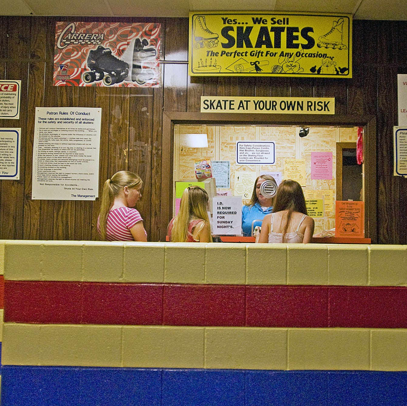 From elite athletes to rioting teens: The colorful history of roller-skating in Delaware