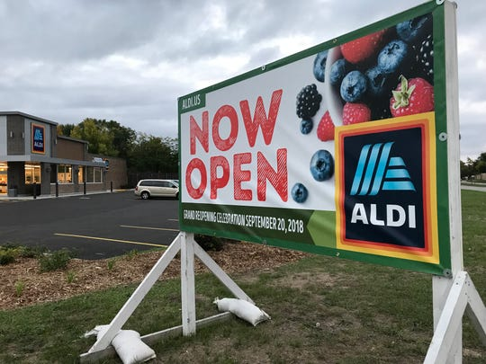 Aldi is open again after it closed temporarily for renovations in Wisconsin Rapids.