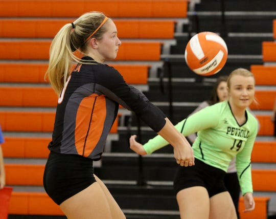 Petrolia junior Haygen Fleming has earned praise from several local coaches as one of the top players in the area.