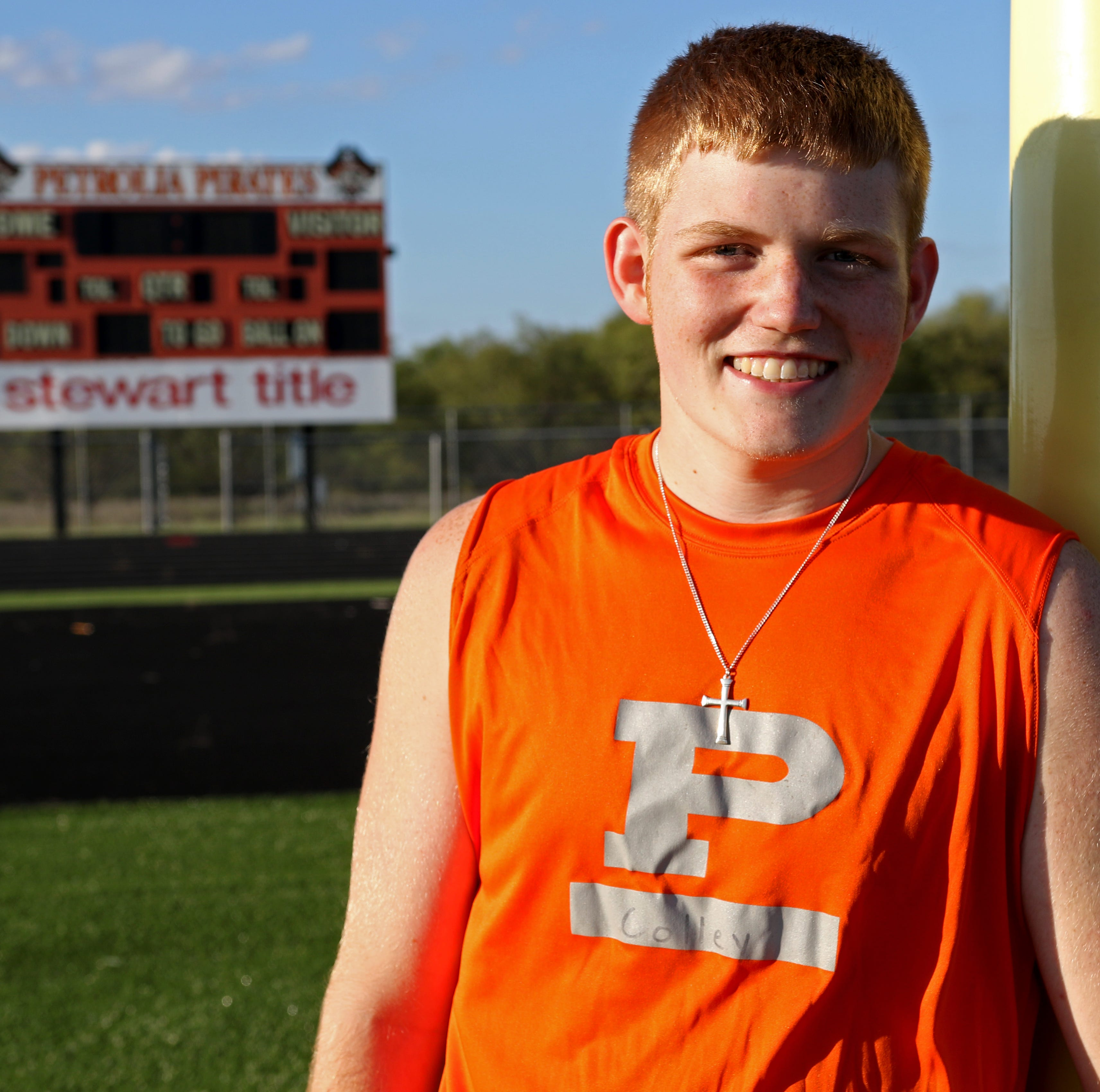 Petrolia's Colley not ready to give up football yet despite brain surgeries