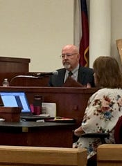 Dr. Randall Price, a forensic psychologist, testifies about his findings on the sanity of Kody Lott during the prosecution's rebuttal Wednesday morning in a Fort Worth courtroom.