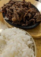 Beef bulgogi dinner