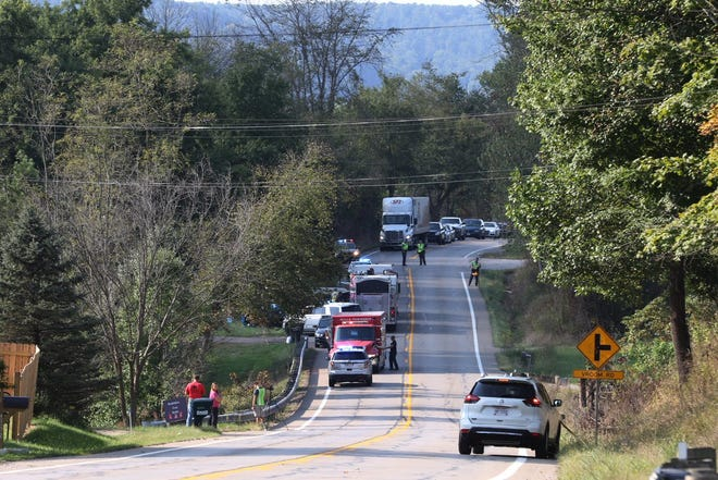 A one-vehicle accident on Ohio 146 claimed the life of a woman Wednesday afternoon.